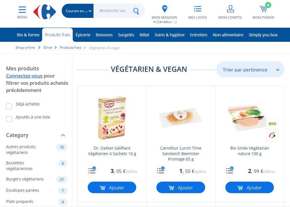 Carrefour Vegan