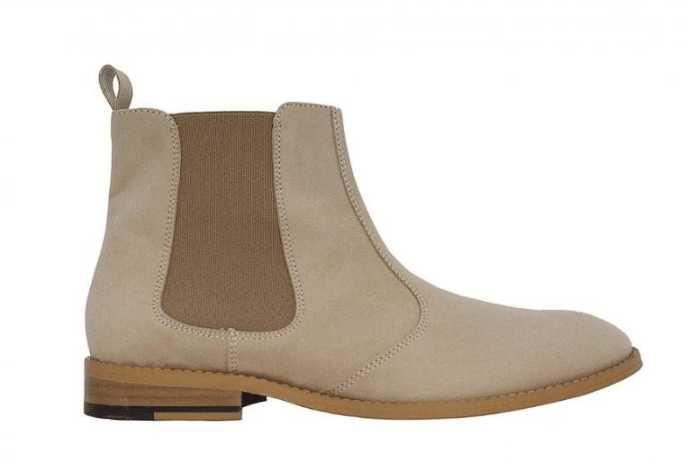 Boots Vegan Homme Beiges