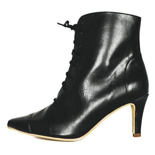 Bottines Vegan Faux Cuir