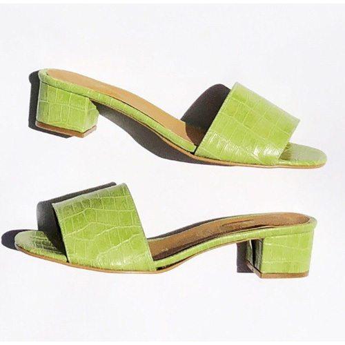 Chaussures Femmes Vegan Vertes