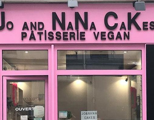 Boutiques pâtisseries Vegan