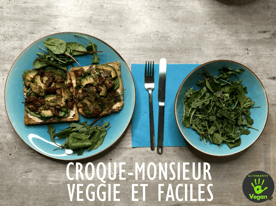 croque-monsieurs veggie et faciles